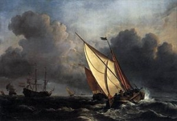 300px-Willem_van_de_Velde_the_Younger,_Ships_on_a_Stormy_Sea_(c__1672).jpeg