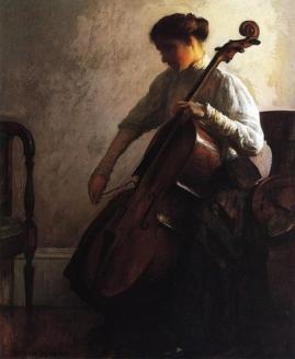 Femme violoncelle DeCamp_Joseph_The_Cellist.jpg