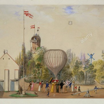 die-ballonfliegerin-wilhelmine-reichard-im-rosenbaumschen-garten-the-balloon-pilot-wilhelmine-reichard-in-the-garden-of-the-rosenbaum-familyvienna-around-1820-watercolour-and-body-colour286-x-401-cm-inv48006-author-gur