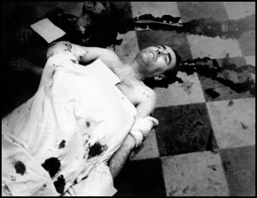 Air raid victim in the morgue, Valencia, May 1937