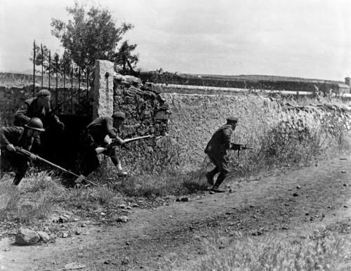 Republican soldiers, La Granjuela, Córdoba front, Spain, June 1937.