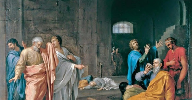 Dufresnoy - La muerte de Socrates